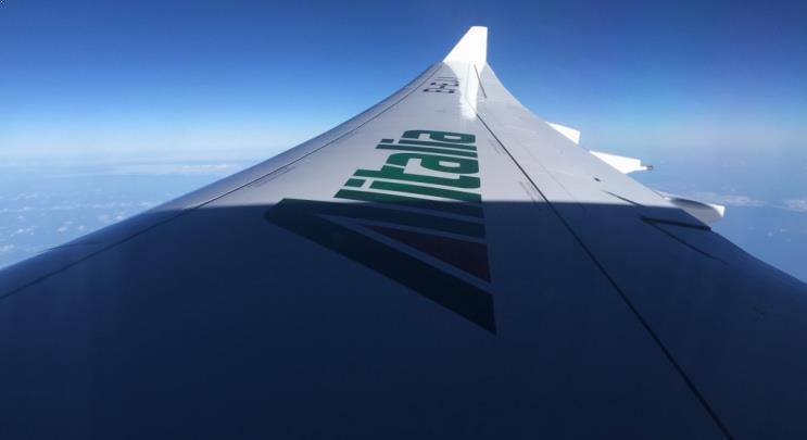 Como é voar pela Alitalia