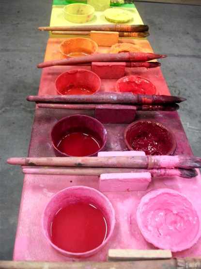 Palette de couleurs des ateliers