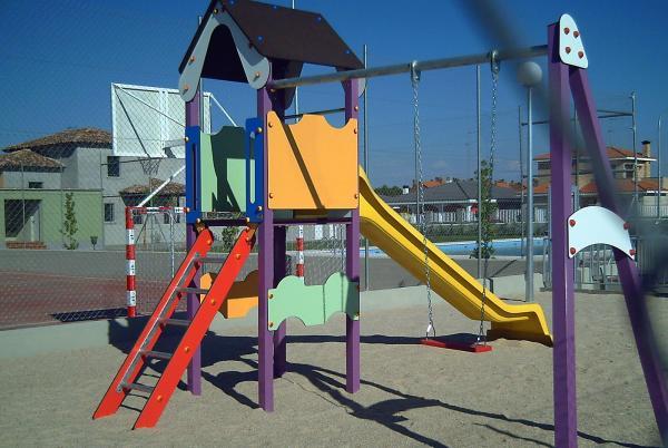 Tobogan, parque infantil