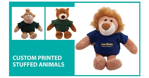 Custom Printed Stuffed Animals