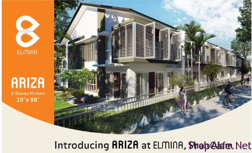 Sime Darby's Elmina - Ariza (Ph1), Keana (Ph2) & Regia (Ph3)