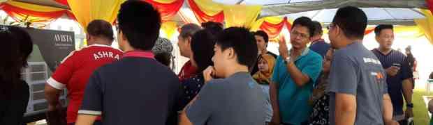 PROPCAFE News : 75% Avista Bandar Puteri Warisan Snapped During Official Launching