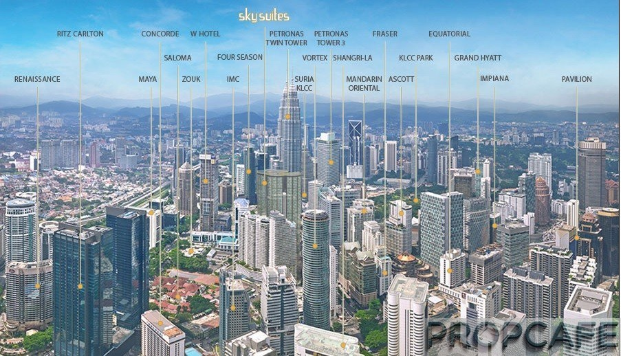 Marc Residence KLCC Suites KualaLumpur Malaysia