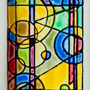 Glass paint - geometric