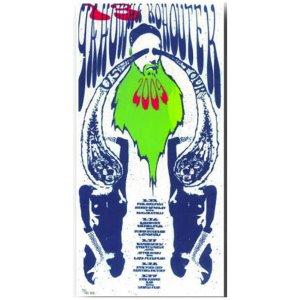 Yahowha 13 | 2009 Tour Poster | 8.5 x17 w/ download code