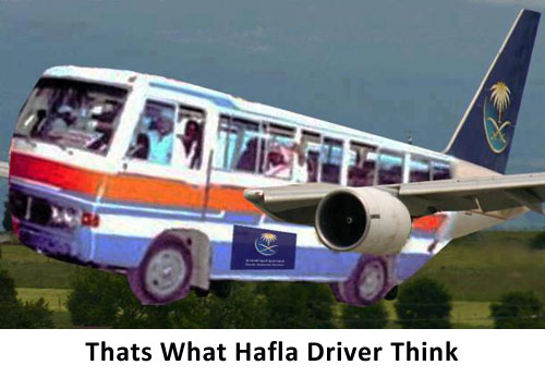 Thats What Hafla Driver Think