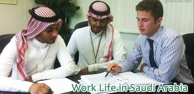 Work Life in Saudi Arabia