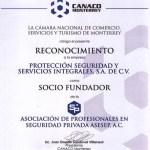 Socio fundador CANACO 2