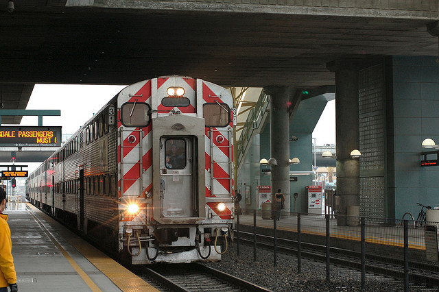 commute Caltrain job search mobile app