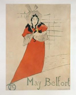 Affiche May Belfort, Collections-Centre de l'Affiche-Mairie de Toulouse