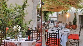 The terrace Reine Jeanne Saint Remy de Provence
