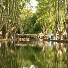 The Cucuron village etang