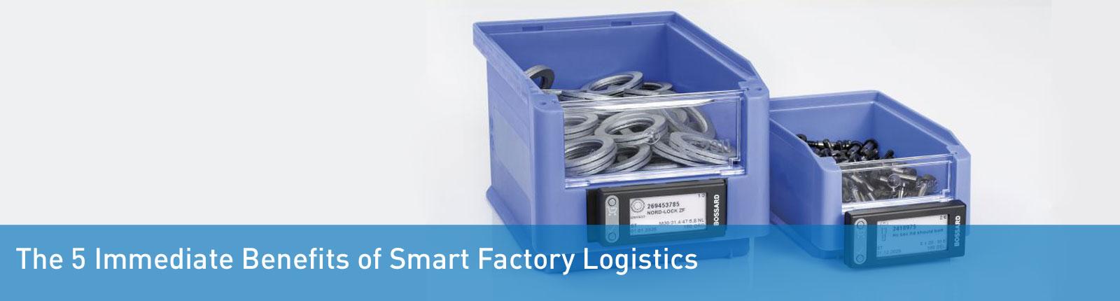 Smart Factory Logistics benefits