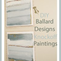 Ballard Designs Knockoff Paintings