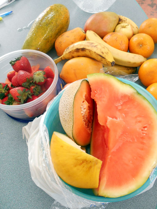 how to make russian salad with fruits