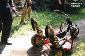 Патрульні знайшли викрадений велосипед