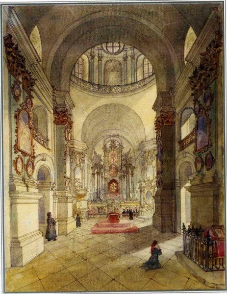 Собор Почаївської Лаври (внутрішній вигляд)