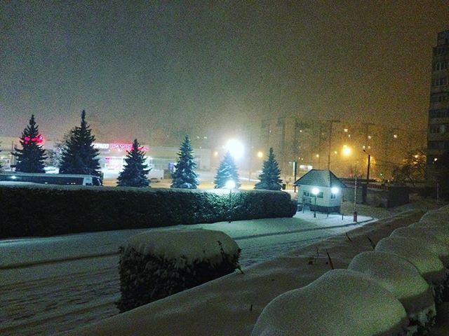 Львів теж із першим снігом