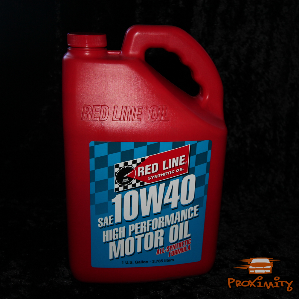Redline High Performance Motor Oil 10w40 Gallon