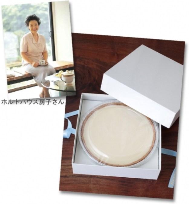 チーズケーキ(直径18cm×高さ2.5cm) 6,001円[各日数量限定20]