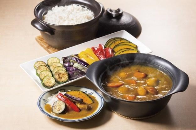 焼夏野菜カレー