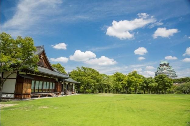 大阪城西の丸庭園 大阪迎賓館 外観