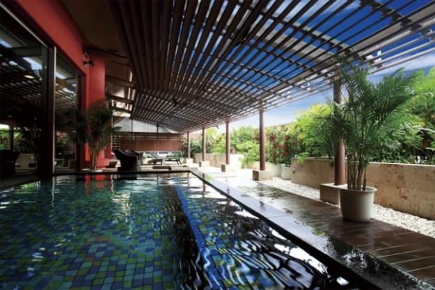 「ロワジール スパタワー 那覇」にある、リゾート気分を味わえる「三重城温泉 海人(うみんちゅ)の湯」