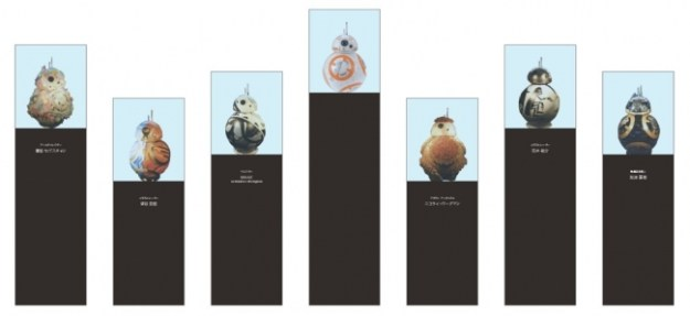 『BB-8 Special Art Project』展示イメージ