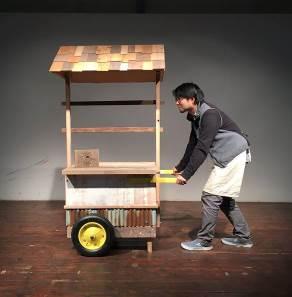 事前ワークショップで制作するモバイル屋台「BUKATSUDO号」をお披露目予定