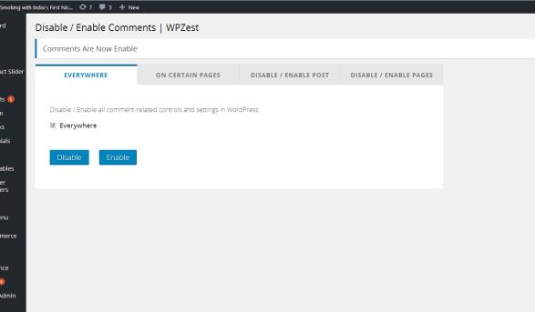 Cara Mudah Disable Semua Komentar WordPress
