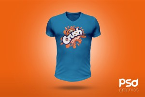 T-Shirt-Mockup-PSD-Template-Preview