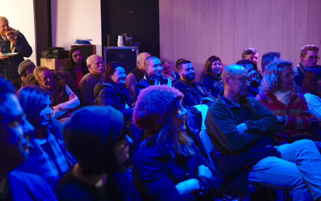 Portsmouth Short Film Night crowd, February 2014