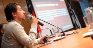 Javier Piñeiro participó en unas de las mesas del 1er. Seminario Internacional de Desarrollo Juvenil a través del Deporte, organizado por la UDP.