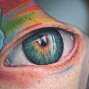 The Best Psychedelic Tattoos on the Planet