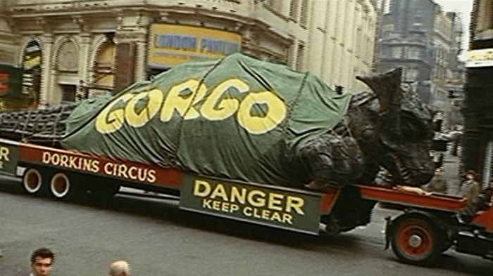 gorgo on a truck