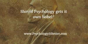 Nobel Prize in Psyhcology
