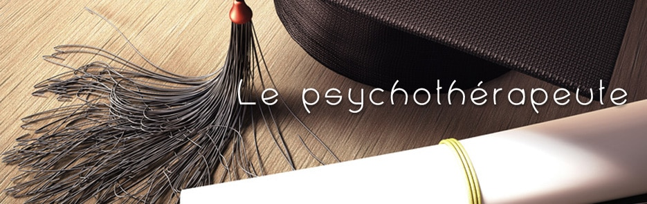 Le psychothérapeute