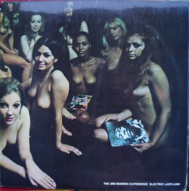 JIMI HENDRIX EXPERIENCE ELECTRIC LADYLAND BLUE TEXT 1st pressing, -1 matrixes, cover nice, vinyl has a feelable but silent on my deck scratch at the start of Rainy Day, last copy could have sold 20+ times £800 M-/M-- TRACK 613009 LP