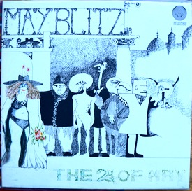 MAY BLITZ THE 2ND OF MAY UK 1st press Swirly, Best cover ever like new almost, no dirt or marks at all, top, vinyl very nice also just a couple of paper scuffs which are of course totally silent, played 3/4 times £480 M-/M- VERTIGO 6360 037 LP