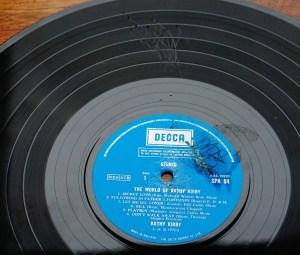 G grade Vinyl Kathy Kirby Grade our records
