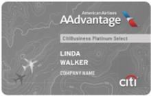 CitiBusiness® : AAdvantage® Platinum Select® World MasterCard®