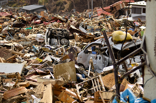 Japan Tsunami - Debris