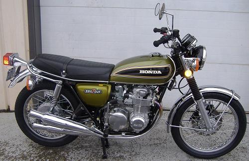 Honda CB550 Motorcycle