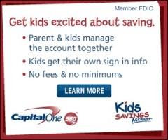 Capital One 360 Kids Savings