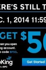 $50 TradeKing Account Opening BLACK FRIDAY BONUS!