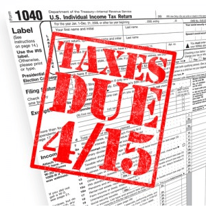 Here's the Annual Tax Calendar and the Last Day to File Taxes This Year