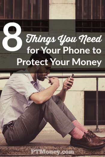 Let's look at some things you can proactively do to minimize the chance of someone getting access to your financial data when using personal finance apps on your phone.