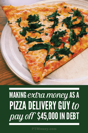 Listen to PT's podcast with Jeff. Jeff earned the extra cash he needed to get out of debt by delivering pizzas. Listen to his story and find out if delivering pizzas is the way for you to earn extra cash!