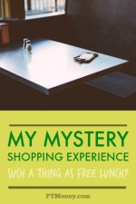 My Mystery Shopping Experience: Such a Thing as Free Lunch?