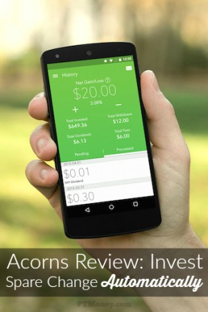 Acorns Review: Invest Spare Change Automatically
